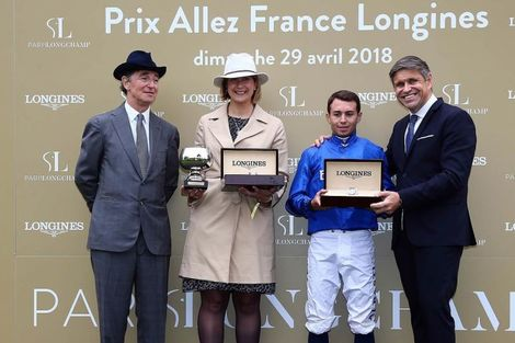 Longines participates in the grand reopening of ParisLongchamp as Official Partner