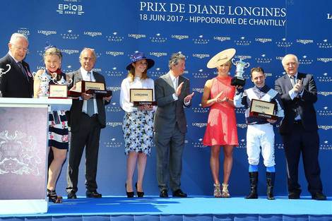 Senga imposes herself in the 2017 Prix de Diane Longines