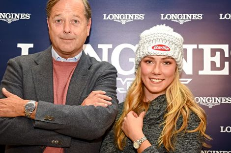 Longines' precision to serve the FIS World Cup with the new Conquest V.H.P. model