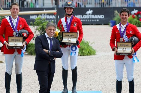 The FEI World Equestrian GamesTM ended beautifully with XXX topping the medal table