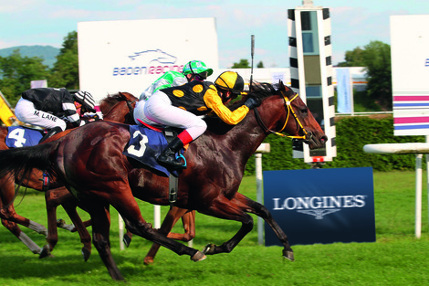 Longines Flat Racing Event: Longines: new title sponsor of the Grosser Preis von Baden