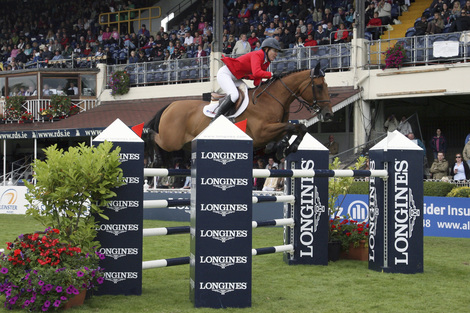 Longines Show Jumping Event: The Dublin Horse Show, where Longines was the official partner and timekeeper, lived up to the expectations last weekend