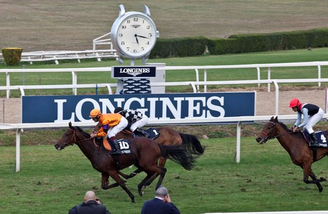 Longines Flat Racing Event: Fabio Branca wins the Grand Prix Longines Lydia Tesio on Quiza Quiza Quiza