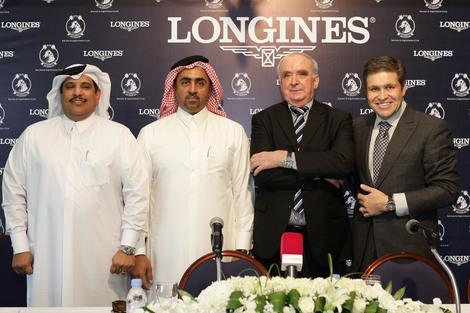 Longines Flat Racing Event: Longines spreads its elegance throughout the equestrian world: A new partnership with the distinguished Qatar Racing and Equestrian club