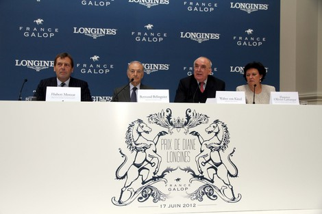 Longines Flat Racing Event: Racing and elegance at the Prix de Diane Longines – Sunday, 17th June 2012 at