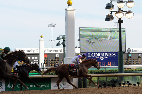 Longines Flat Racing Event: Longines celebrates its second year as Official Timekeeper and Official Watch of the Kentucky
