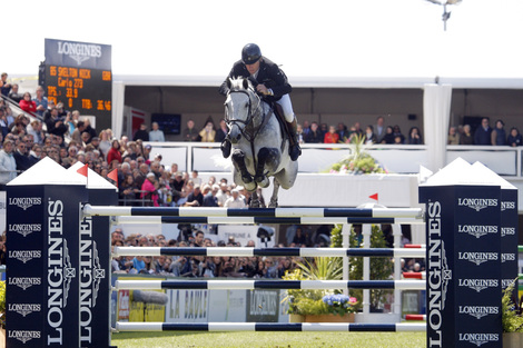 Longines Show Jumping Event: Nations Cup – Longines Press Award for Elegance: Intermediate ranking
