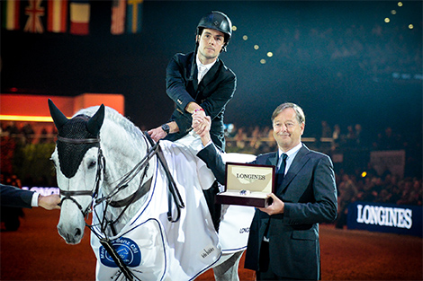 Longines Show Jumping Event: Sergio Alvarez Moya (ESP) wins the Swiss leg of the Longines FEI World Cup™ in Zurich