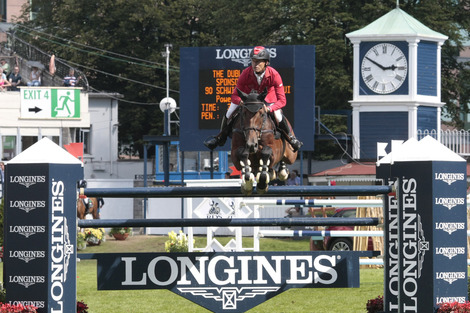 Longines Show Jumping Event: Longines Press Award for Elegance 2012