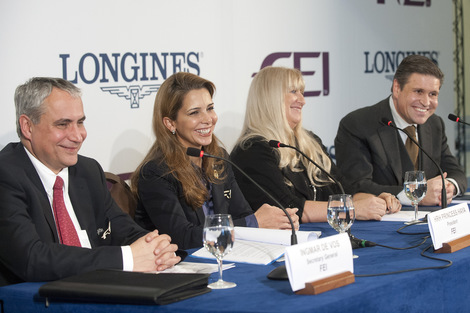 Longines Show Jumping Event: Longines formalises record 10-year partnership with the FEI