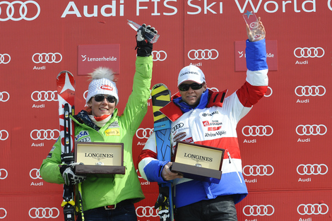 Longines Alpine Skiing Event: Mikaela Shiffrin and Alexis Pinturault, Longines Rising Ski Stars 2012/2013