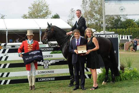Longines Show Jumping Event: Longines expands commitment to equestrian sports through Hampton Classic Horse Show partnership