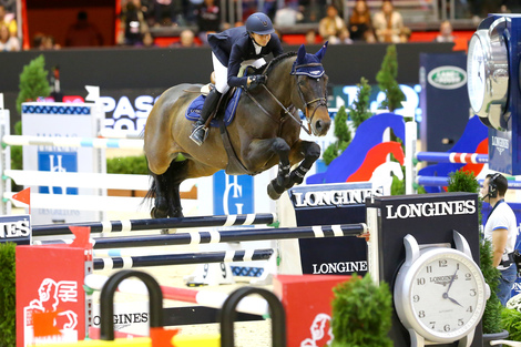 Longines Show Jumping Event: Longines  – Official Timekeeper of Equita'Lyon