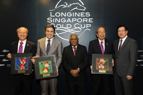 Longines Flat Racing Event: The prestigious Longines Singapore Gold Cup 2013 raises S$374,483 for charity