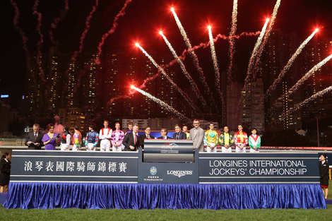 Longines Flat Racing Event: Longines International Jockey's Championship in Hong Kong