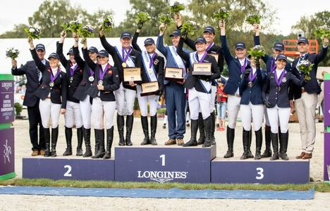 Longines Eventing Event: Team Germany claimed the 2019 Longines FEI Eventing European Championships crown in Luhmühlen