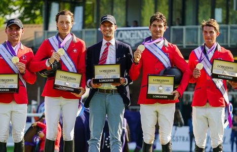 Longines Show Jumping Event: Europe's pre-eminent riders secured victories at the Longines FEI Jumping European Championship 2021