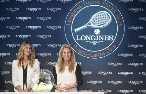 Longines Tennis Event: Stefanie Graf and Arantxa Sanchez kick off the 7th edition of the Longines Future Tennis Aces tournament
