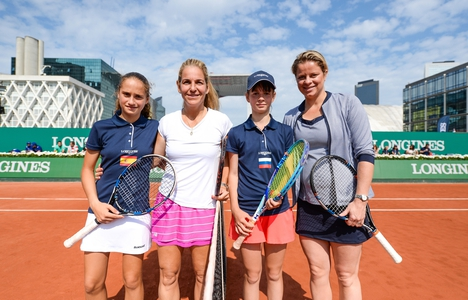 Longines Tennis Event: Spain's María Dolores López Martínez is the winner of the 2016 Longines Future Tennis Champions