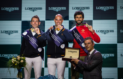 Longines Endurance Event: Jaume Punti Dachs and Twyst Maison Blanche won the 160 km ride at 2016 Longines FEI World Endurance Championships