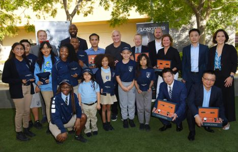 Longines Corporate Event: Longines Ambassador of Elegance Andre Agassi opens the doors of his campus in Las Vegas to generous donors