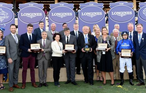 Longines Flat Racing Event: Swiss Watch Brand Longines Times 2017 Breeders' Cup World Championships at Del Mar