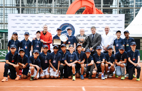 Longines Tennis Event: Martyn Pawelski wins the eighth edition of the Longines Future Tennis Aces
