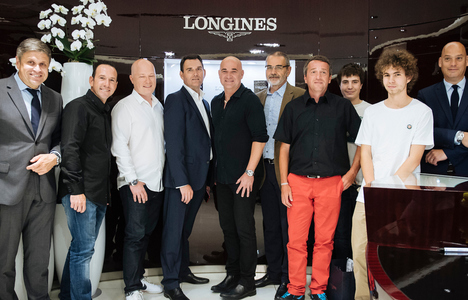 Longines Tennis Event: Andre Agassi celebrates his 10-year anniversary as a Longines Ambassador of Elegance