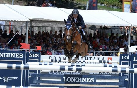 "Longines Show Jumping Event: Wouter Devos (BEL) is the winner of the ""Longines Grand Prix"" in Crans-Montana"