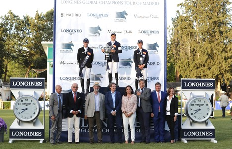 Longines Show Jumping Event: The Spanish leg of the 2017 Longines Global Champions Tour was won by Kent Farrington