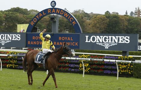 Longines Flat Racing Event: Longines timed the victory of Addeybb in the Longines Queen Elizabeth Stakes