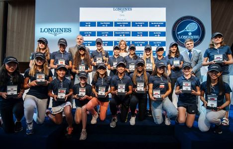 Longines Tennis Event: Looking for the champions of tomorrow at the 2018 Longines Future Tennis Aces tournament