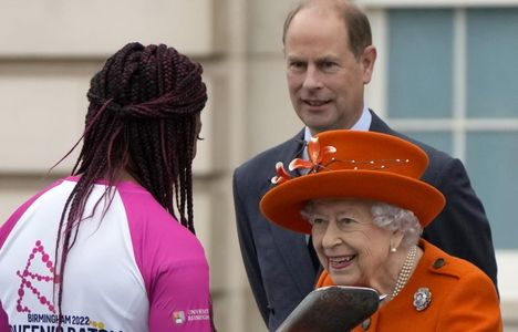 Longines Commonwealth Games Event: Her Majesty the Queen launches the 16th official Queen's Baton Relay for the Birmingham 2022 Commonwealth Games