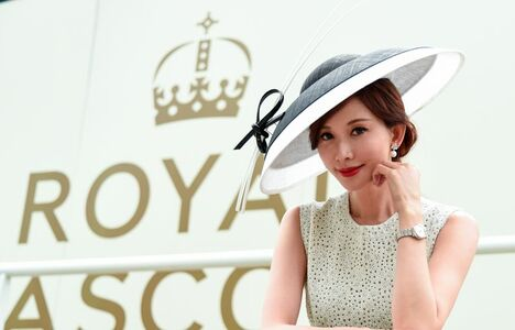 Longines Flat Racing Event: Longines celebrates elegance at Royal Ascot with Chi Ling Lin