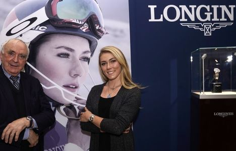 Longines Alpine Skiing Event: To mark the opening of the alpine skiing season, Longines is presenting the Conquest Chronograph by Mikaela Shiffrin