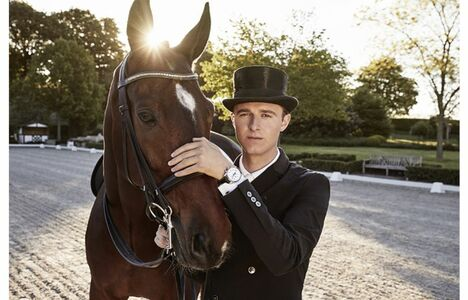 Longines Corporate Event: Dressage's rising star Sönke Rothenberger has become a Longines Ambassador of Elegance