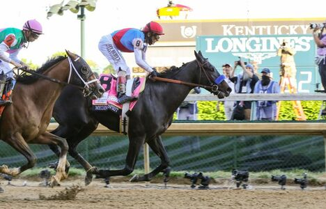 Longines Flat Racing Event: Longines timed the victory of Medina Spirit in the 147th Kentucky Derby