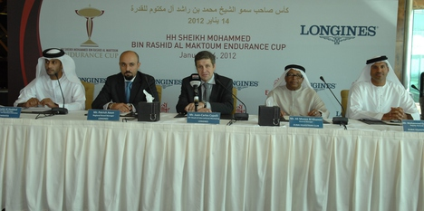 Longines Endurance Event: Longines set to be presenting sponsor and official timekeeper for the elite HH Sheikh Mohammed Bin Rashid Al Maktoum Endurance Cup
