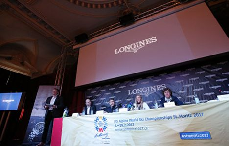 Longines Alpine Skiing Event: Official launch of the Longines Live Alpine Data system at the FIS Alpine World Ski Championships St. Moritz 2017