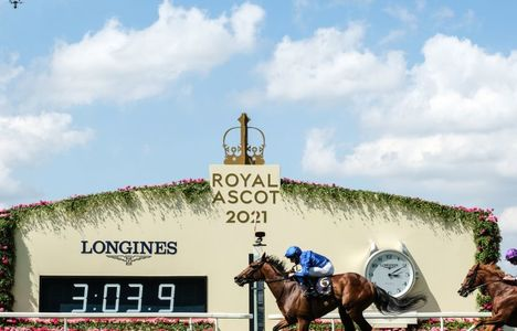 Longines Flat Racing Event: World-class jockeys gather at Royal Ascot for five days of enthralling races timed by Longines