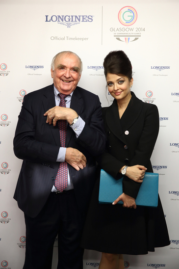 Longines Commonwealth Games Event: Longines Ambassador of Elegance Aishwarya Rai at the Opening Ceremony of Glasgow 2014, the XX Commonwealth Games