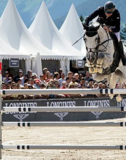 After four days of captivating competitions, Piergiorgio Bucci (ITA) won the Grand Prix Longines in Crans-Montana