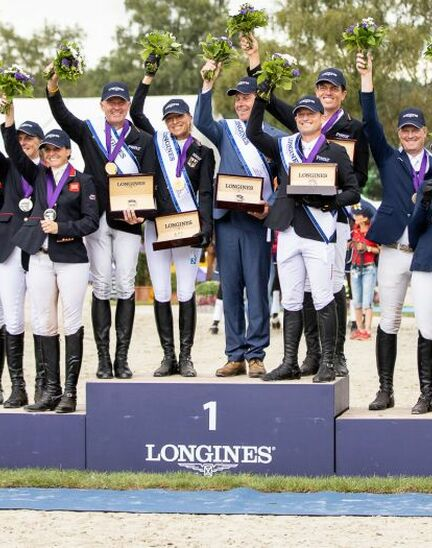 Team Germany claimed the 2019 Longines FEI Eventing European Championships crown in Luhmühlen