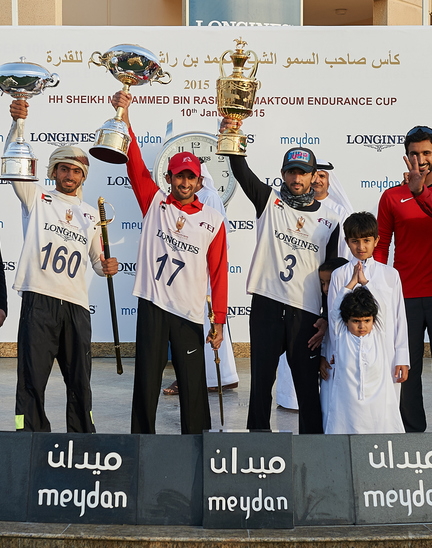 Longines Endurance Event: HH Sheikh Hamdan wins the 2015 Endurance Cup Presented by Longines