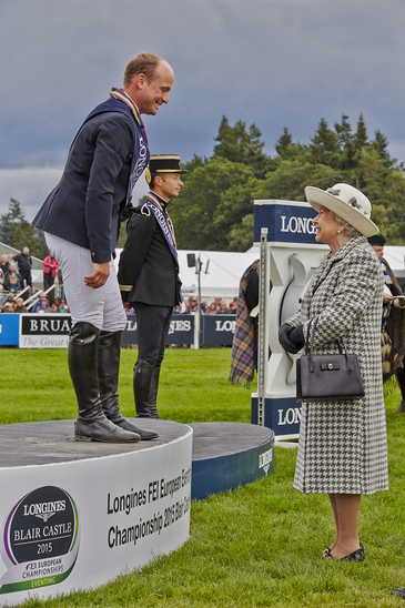 Longines Eventing Event: the Longines FEI European Eventing Championship 2015 (Blair Castle)