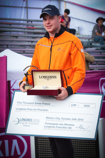 Longines Archery Event: The Longines Prize for Precision: the recognition of excellence