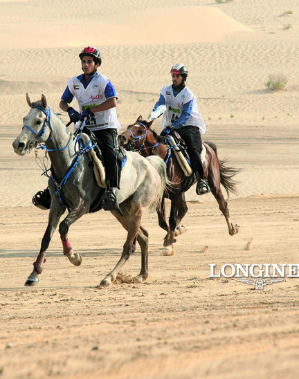 Longines Endurance Event: HH Sheikh Mohammed Bin Rashid al Maktoum Endurance Cup by Longines – Longines joins the world of endurance riding