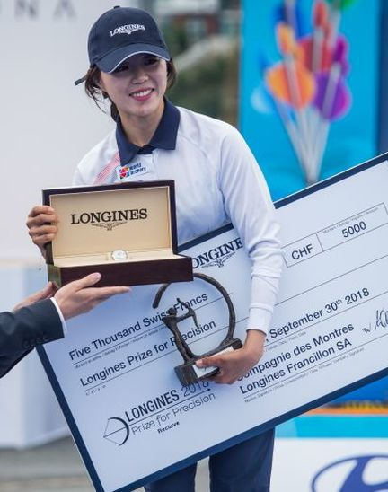 The Longines Prize for Precision: the recognition of excellence
