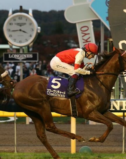 Suave Richard galloped to victory in the 2019 edition of the  Japan Cup in association with Longines
