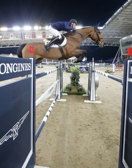 Doha hosted the world's best riders and horses for the launch of the new Longines Global Champions Tour season